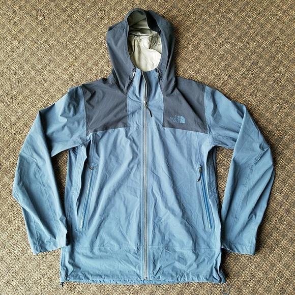 6b0e2adc4 The North Face Dryvent Rain Wind Jacket Blue TNF